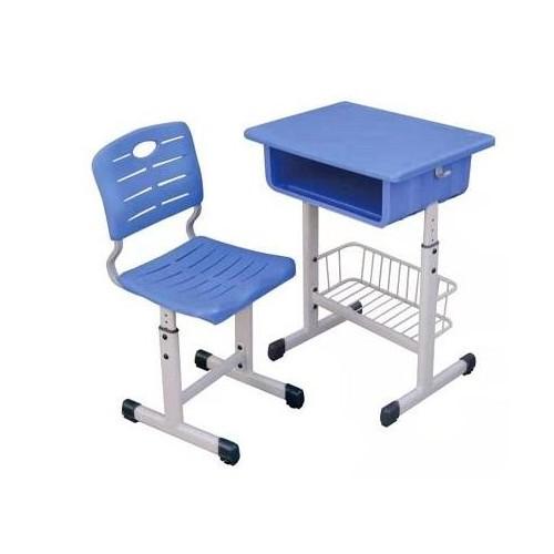 上海升降课桌椅制造企业~河北鑫磊接受订制注塑成型课桌凳