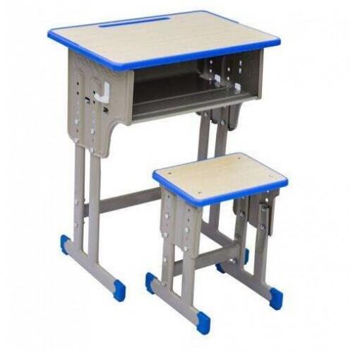 福建升降课桌椅定制厂家~鑫磊厂家直营钢木结合课桌凳