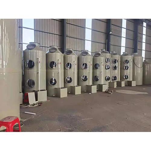 重庆PP喷淋塔订做厂家|河北濯海环保公司订制喷淋塔