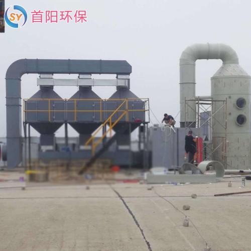 窑炉10万风量30平湿电除尘器配置清单