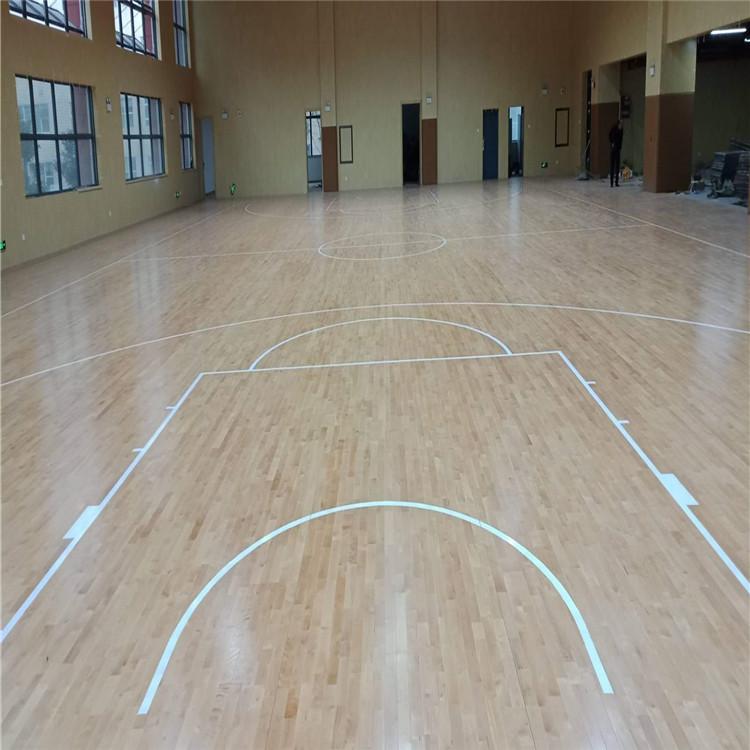 室内体育运动木地板安装前的准备工作