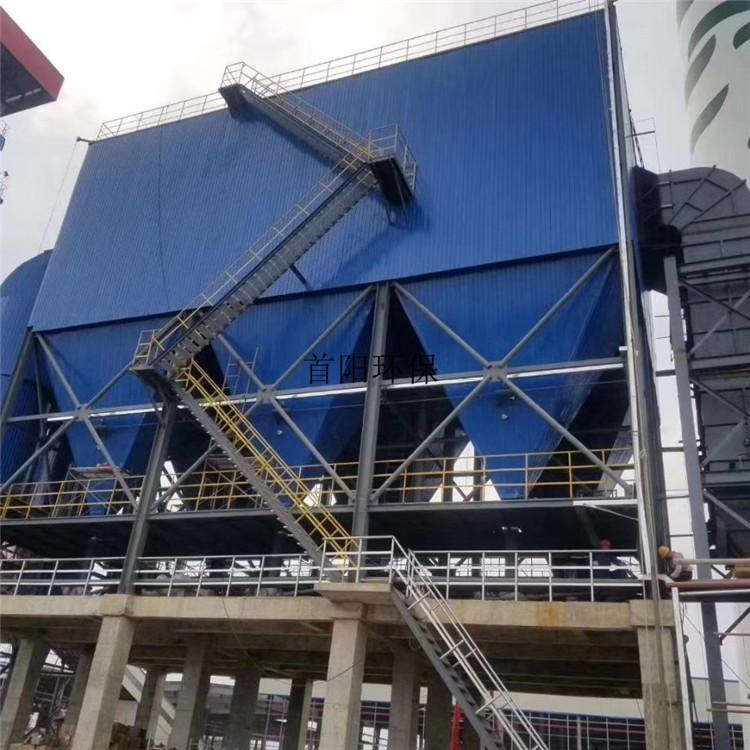 电厂2万风量 布袋除尘器工艺系统改造安装视频