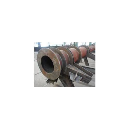 甘肃彩钢钢结构企业-新顺达钢结构公司工程施工圆管柱