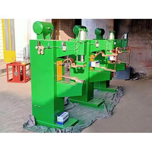 宁夏银川@自动网片点焊机-「跃峻焊接」气动点焊机~求购