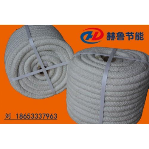 陶瓷纤维圆绳,陶瓷纤维圆编绳,圆形陶瓷纤维绳