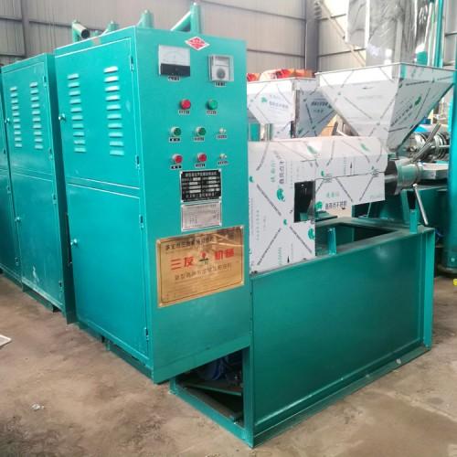 125型多功能花生榨油机应用广泛