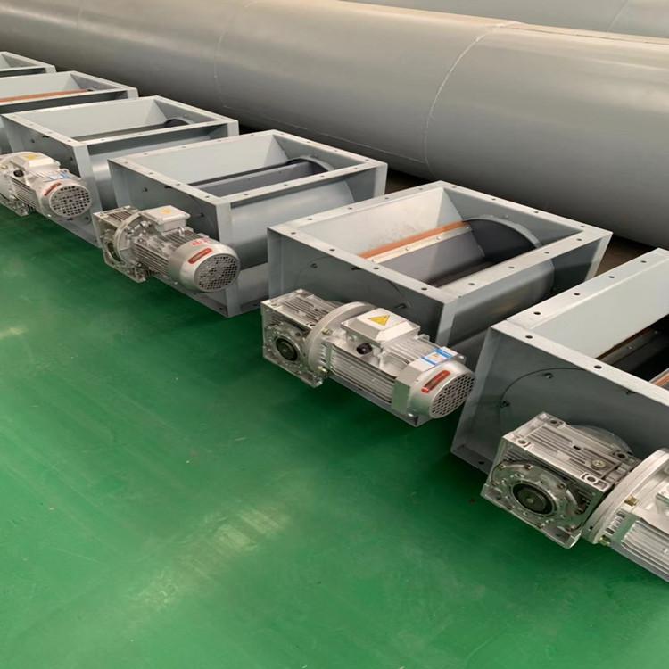 除尘器配套星型卸料器常规型号尺寸表