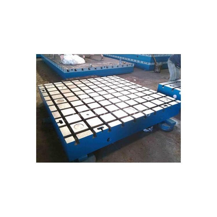 北京铸铁平台生产~沧州沧丰厂家加工T型槽平板