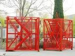 河北沧州箱式安全梯笼「文鹏建筑」施工箱式安全梯笼&规格多样