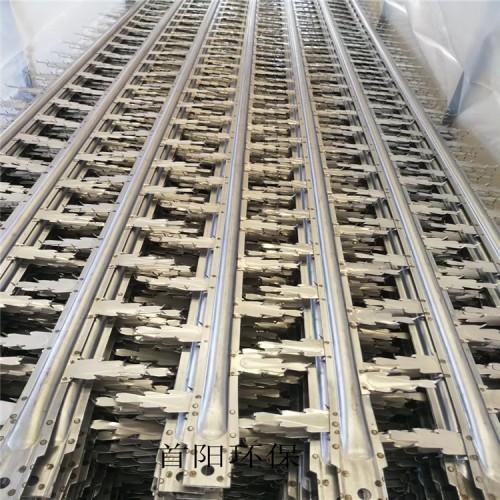 芒刺线不锈钢角钢宽10mm螺栓是8mm宽度两边1mm定做工期