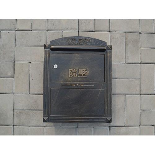 内蒙古信报箱加工/泊头韩集兴达铸造订制入墙邮筒