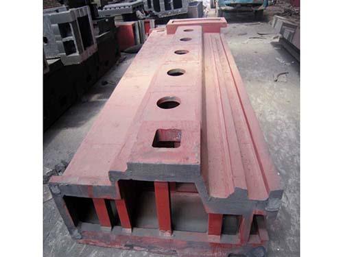 湖南大型机床铸件定做厂家/久丰量具公司供应大型床身铸件