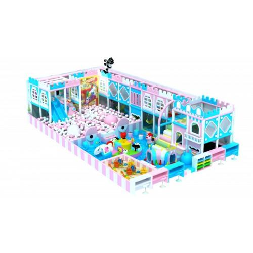 湖南淘气堡儿童乐园游乐设备球池滑梯厂家直销加盟