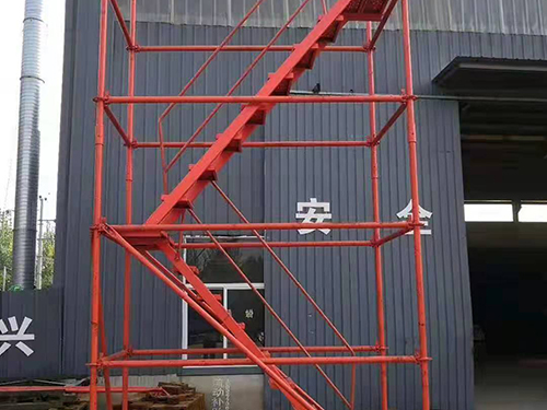 湖北武汉安全爬梯-「弘旭建筑」安全梯笼|价格