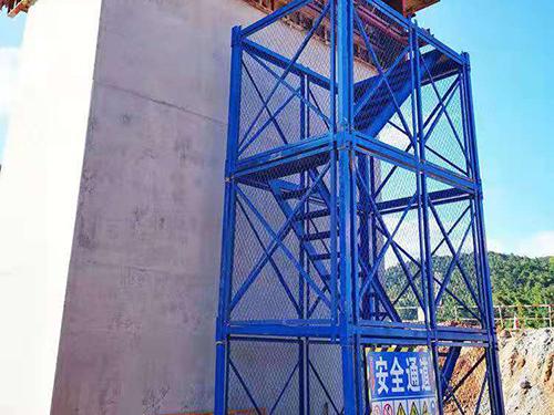 江西南昌安全梯笼-「弘旭建筑」施工爬梯|多少钱