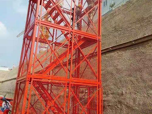 浙江杭州基坑马道-「弘旭建筑」安全爬梯|哪里买