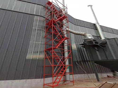 湖南长沙施工爬梯-「弘旭建筑」安全梯笼|怎么样